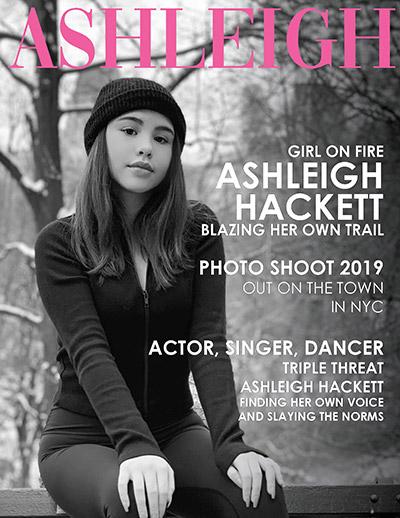 Ashleigh Hackett Press Kit